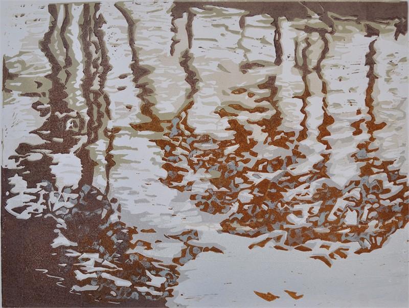 Speil lino 40x30 2600