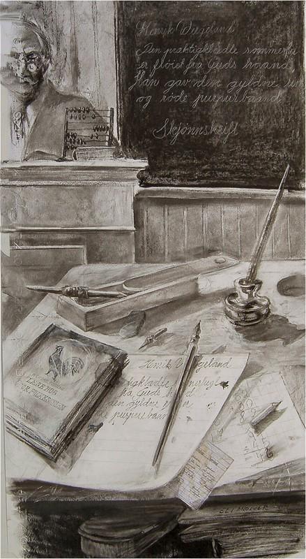 På pulten